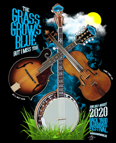 Grass Grows Blue - Front